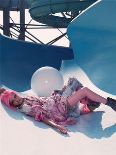 "Life in pics: Editorials: ""Bubble"" - Natalia Vodianova by Craig McDean"