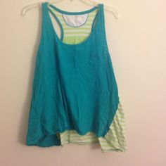 Tank Calvin Klein active top! Barely worn. Calvin Klein Tops