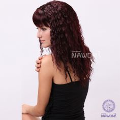 Afro Curly Wig for Women Burgundy Wig Best Synthetic Wig