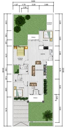 id architects Guest House Plans, Small House Floor Plans, Home Design Floor Plans, Dream House Plans, Modern House Plans, Sims House Design, Home Room Design, Dream House Sketch, Classic House Exterior