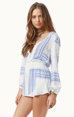 The Jetset Diaries Settle Down Romper