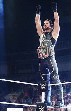 I'm so proud of @WWERollins :)