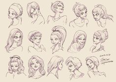 Expression Design of Daisy by chacckco.deviantart.com on @deviantART