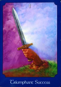 10 Mar 2015: #DailyCardReading #PsychicReading #tarot #oracle #SpiritualGuidance   Triumphant Success ~ Support for an idea comes from an unlikely source, but keep your options open - if things sound too good to be true, they probably are. When putting part of your plan into action today, remember that the sword has two sides. There's potential for gossip or a quick tongue today - be mindful and keep out of others' business. <3 Vanda xx ('The Psychic Tarot Oracle', John…