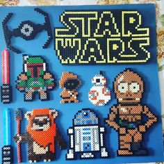 Star Wars hama beads by cosmichelen