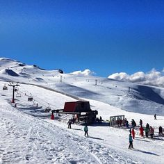 Cardrona Ski Field, Wanaka, South Island, New Zealand