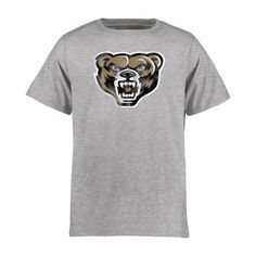 Oakland Golden Grizzlies Youth Classic Primary T-Shirt - Ash - $17.99