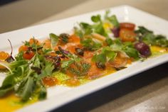 Cured Salmon & Summer Vegetable from K-ZO