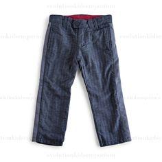 Mini Shatsu Herringbone Pants