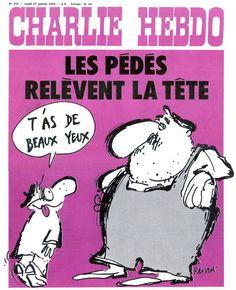 Charlie Hebdo - # 219 - 27 Janvier 1975 - Couverture : Reiser