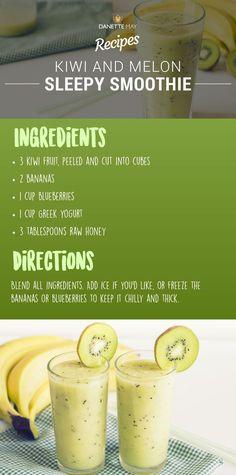 kiwi melon smoothie