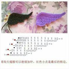 Best 12 How to Crochet Angel Wings – SkillOfKing. Crochet Angel Pattern, Crochet Angels, Crochet Birds, Cute Crochet, Irish Crochet, Crochet Crafts, Crochet Dolls, Crochet Flowers, Crochet Projects