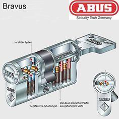ABUS Bravus.2000 Sicherheits-Wendezylinder 45-45 ,N+G Funktion ,5 Schlüssel,Patent 2030 Abus-Pfaffenhain http://www.amazon.de/dp/B00OHS3LHK/ref=cm_sw_r_pi_dp_P0g4ub18RT8DF