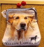 P1010 labradori koira koiralaukku kehyslaukku colorius