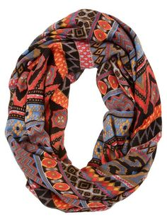 love this patterned infinity scarf http://rstyle.me/~2R2sr