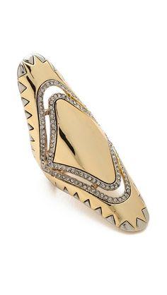 26ae42d0c House of Harlow 1960 MODERN TRIBAL RING World Of Fashion, I Love Fashion,  Diamond