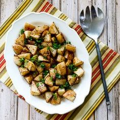 Turnips don't get much respect, but these Roasted Turnips with Balsamic Vinegar and Thyme are delicious and this recipe is low-carb and Pal...