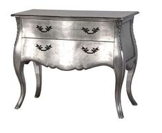 lucy willow silver end table