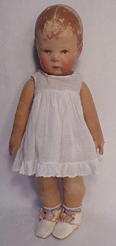 German Kathe Kruse Cloth Doll I