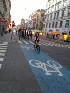 Nørrebrogade bus-and-bike-only zone