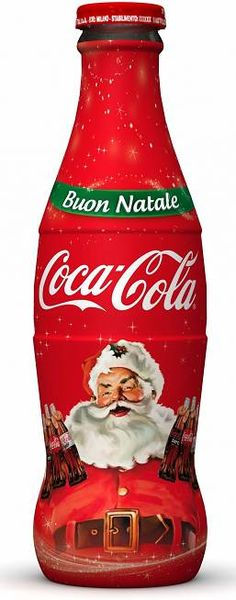 Coca Cola Christmas Bottle.Coca Cola Christmas
