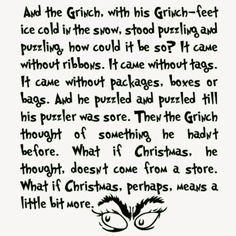 What if Christmas, perhaps, means a little bit more.