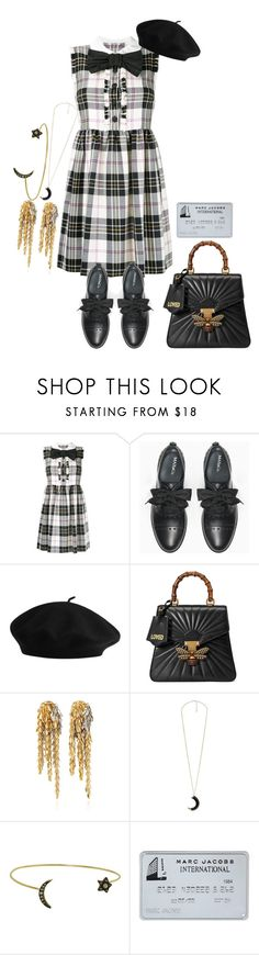 """At the end you are nothing"" by cherrysick on Polyvore featuring Miu Miu, Max&Co., Gucci, Loewe, MANGO and Kismet"