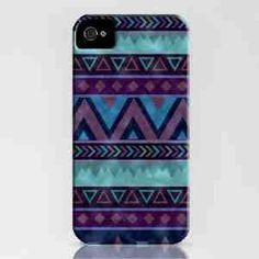Pretty colors in Aztec pattern