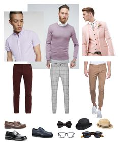 """Riko's pastel look"" by arini-lioni on Polyvore featuring Dsquared2, ASOS, Express, Paul Smith, Topman, Church's, Burberry, Tod's, Scala and Gap"