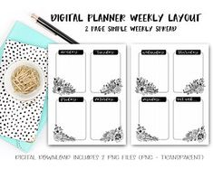 Biggest Mom life hack - digital planning - fully customizable and unbelievably convenient (June & Lucy Digital Planner on Etsy) Planner Pages, Weekly Planner, Planner Stickers, Packing List Template, Any App, Barn Wood Frames, Pantry Labels, Layout, Digital