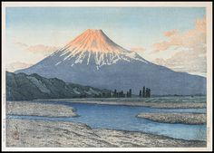 Verne Collection - Kawase Hasui - The Fuji River