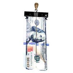 ODDSOX NEW MONEY CASH HUNDRED DOLLAR BILL DEAD PRESIDENTS FOOTWEAR TUBE SOCKS