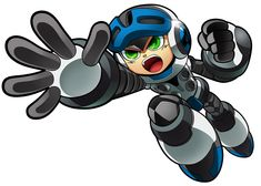 Beck Action Pose from Mighty No. 9