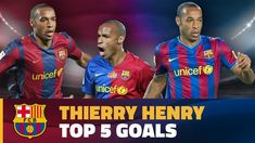 Thierry Henry's best goals for FC Barcelona Thierry Henry, Fc Barcelona, Football, Goals, Youtube, Sports, Hs Sports, Futbol, American Football