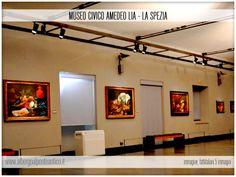 Museo Civico Amedeo Lia - Sala Quadri - Albergo Al Ponte Antico Carrodano - La Spezia - Liguria