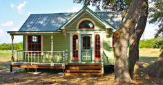24 casas muy pequeñas y adorables en las que desearás vivir - http://dominiomundial.com/24-casas-muy-pequenas-y-adorables-en-las-que-desearas-vivir/