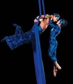 Cirque du Soleil's Amanda Orozco and Lorant Markocsany in Dralion