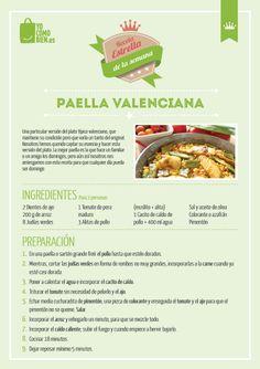 Como reparar una auténtica paella valenciana. Receta paso a paso.