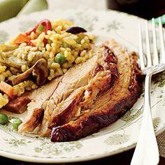 Sangria Roast Pork | MyRecipes