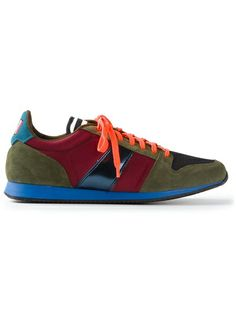 AMI - panelled trainers 5