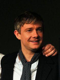 Always repin Martin wearing that cravat. <3