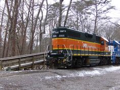 A cold day at Gee Creek....love #trains ! #snow #winter #adcoleman #Tennessee #photo