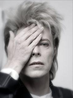 David Bowie, 1987.