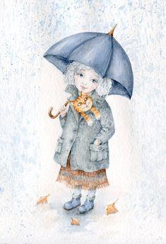 Inga Izmaylova-girl with umbrella