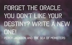 Annabeth chase quote from Percy Jackson and the Sea of Monsters