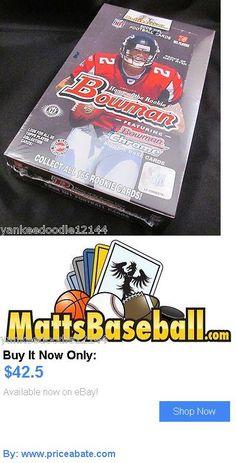 Sports Memorabilia: 2008 Bowman Football Hobby Factory Sealed Box, 24 Packs/10 Cards BUY IT NOW ONLY: $42.5 #priceabateSportsMemorabilia OR #priceabate