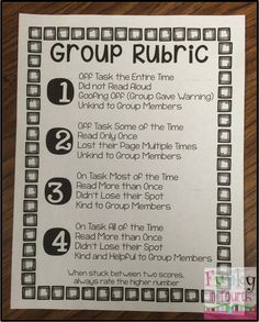 Holding Students Accountable During Reading Groups
