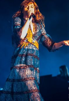 Florence + the Machine performing at Turin, Italy #HowBeautifulTour