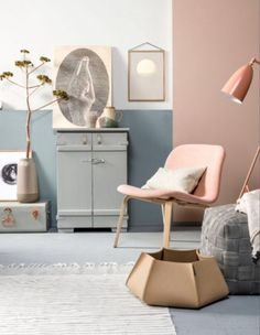 "This pink chair is from our feature ""Colour Codes"""