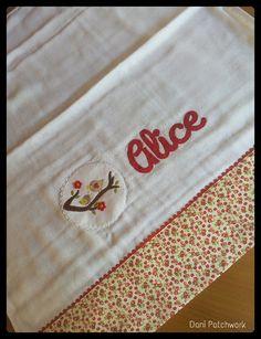 Fralda de Ombro pequena Alice